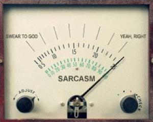 sarcasm-o-meter