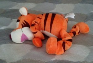 "Unlike the ""real"" Tigger, my Tigger looks and feels like a chewed up dog toy."