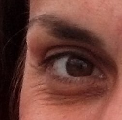 My smiling eye.