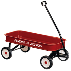 old radio flyer