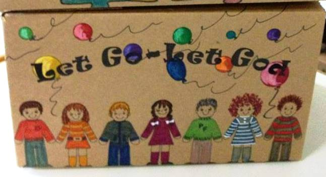 A sample of the Box Lady's work.