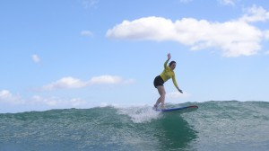 Yeah, that's me surfing