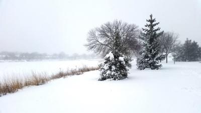 lake snow