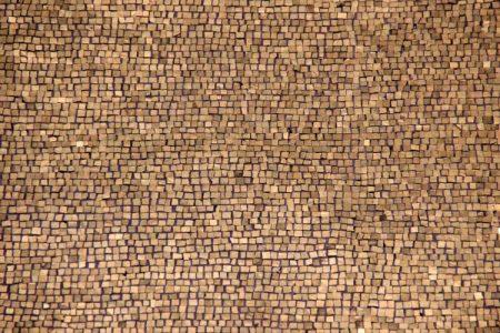 mono mosaic via Edouard Dognin