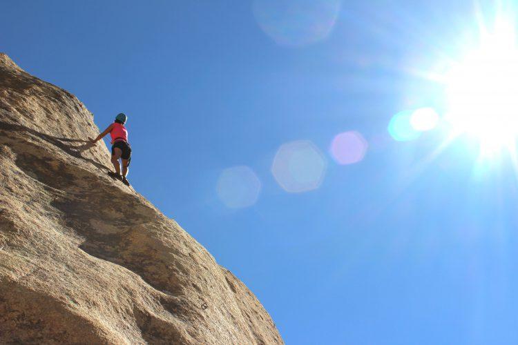 rockclimbing by Samantha Sophia