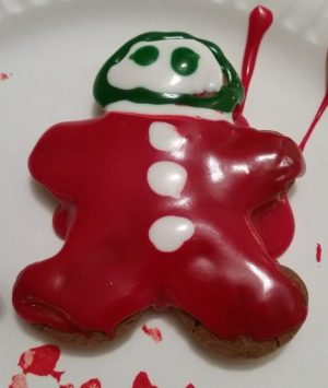 ...a not exactly perfect cookie that recalls a sweet (pun intended) Christmas memory